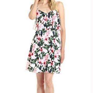 Vince Camuto Jungle Lily Flared Dress